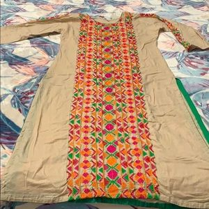Dresses & Skirts - 🌹COTTON KURTA IN BANARSI DESIGN TUNIC🌹